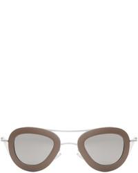 graue Sonnenbrille von Haal