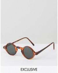 graue Sonnenbrille von Reclaimed Vintage