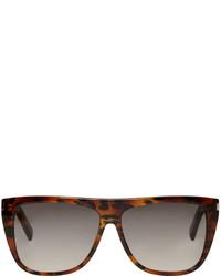 graue Sonnenbrille von Saint Laurent