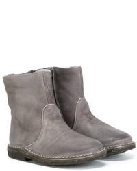 graue Stiefel aus Leder von Pépé