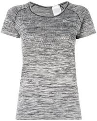 graue Strick Bluse von Nike