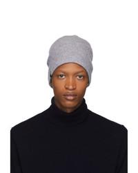graue Strick Mütze von Mackage