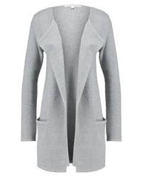 graue Strickjacke mit einer offenen Front von Tom Tailor
