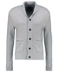 Graue Strickjacke Mit Schalkragen von Jack & Jones