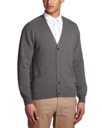 Graue Strickjacke von Alan Paine
