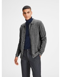 graue Strickjacke von Jack & Jones
