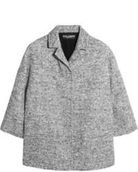 graue Tweed-Jacke von Dolce & Gabbana