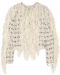 graue Tweed-Jacke von Lanvin