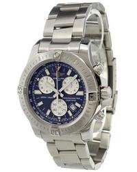 graue Uhr von Breitling