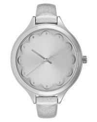 graue Uhr von Even&Odd
