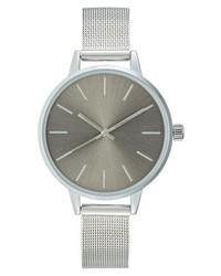 graue Uhr von KIOMI