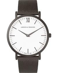 graue Uhr von Larsson & Jennings