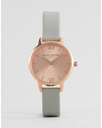 graue Uhr von Olivia Burton