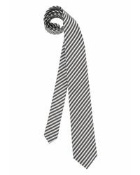 graue vertikal gestreifte Krawatte von STUDIO COLETTI