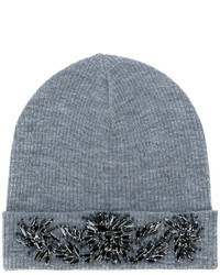 graue verzierte Mütze von P.A.R.O.S.H.