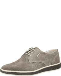 graue Wildleder Derby Schuhe von IGI&CO
