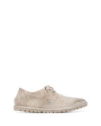 graue Wildleder Derby Schuhe von Marsèll