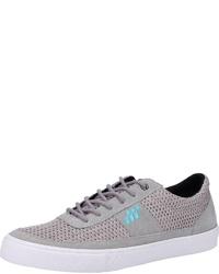 graue Wildleder niedrige Sneakers von Boxfresh