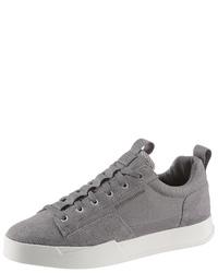graue Wildleder niedrige Sneakers von G-Star RAW