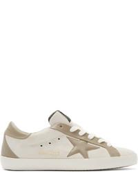 graue Wildleder niedrige Sneakers von Golden Goose Deluxe Brand