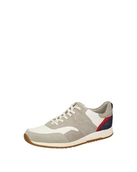 graue Wildleder niedrige Sneakers von Sioux
