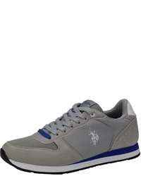 graue Wildleder niedrige Sneakers von U.S. Polo Assn.