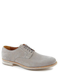 graue Wildleder Oxford Schuhe