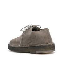 graue Wildleder Oxford Schuhe von Marsèll