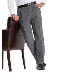 graue Wollanzughose von Classic