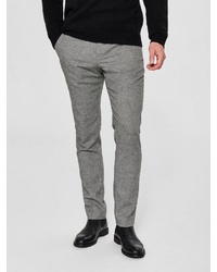 graue Wollanzughose von Selected Homme