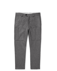 graue Wollchinohose von Brunello Cucinelli