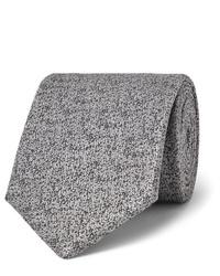 graue Wollkrawatte von Charvet