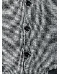 graue Wollweste von Lardini