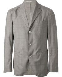 grauer Anzug mit Karomuster von Boglioli