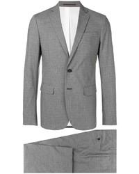 grauer Anzug mit Karomuster von DSQUARED2