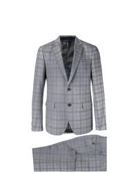 grauer Anzug mit Karomuster von Etro