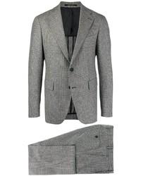 grauer Anzug mit Karomuster von Tagliatore