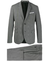 grauer Anzug mit Schottenmuster von Neil Barrett