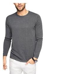 grauer bedruckter Pullover von Esprit