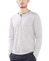 grauer Henley-Pullover von Esprit