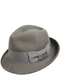 grauer Hut