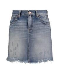 grauer Jeans Minirock von LTB
