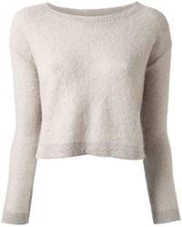 premium selection a5bd6 27c43 Modische grauen kurzen Pullover für Winter 2019 kaufen ...