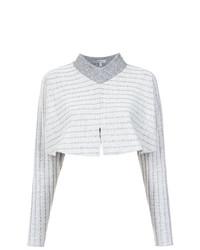 grauer kurzer Pullover von Alcaçuz