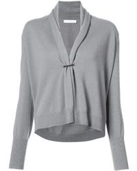 grauer kurzer Pullover von Fabiana Filippi