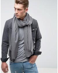 grauer leichter Schal von Asos