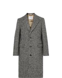 grauer Mantel mit Hahnentritt-Muster von Salle Privée