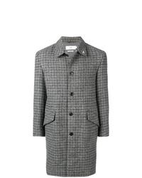 grauer Mantel mit Karomuster von Closed
