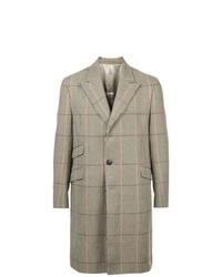 grauer Mantel mit Karomuster von Holiday
