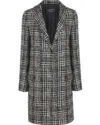grauer Mantel mit Schottenmuster von Lanvin
